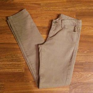 Taupe Banana Republic Skinny Jeans Sz. 26